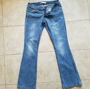 Levi's 524 Super Low Rise Bootcut Jeans Great!